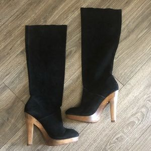 Michael Kors suede boots